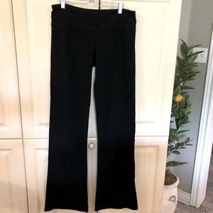 Lululemon Women's Black Wide Leg Pants Size Medium